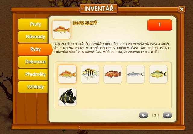 inventar Fishdex